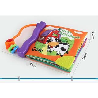 LT Đồ chơi trẻ em đồ chơi thông minh Sách vải LT3947