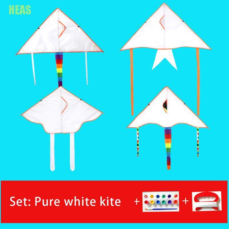 Diều đồ chơi có tay cầm và dây thả dành cho trẻ em DIY