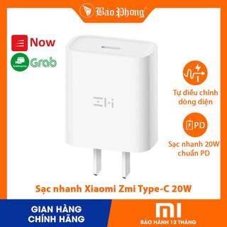 Củ Sạc Nhanh 20W Xiaomi Zmi Cổng Type C HA716 cho iPhone iPad Samsung IP 6 7 8 10 11 x xs max pro QC 3.0 cốc cóc thumbnail