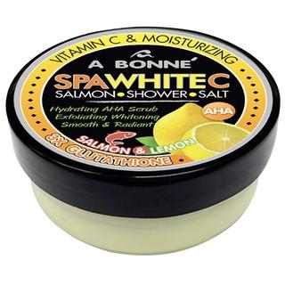 Muối Tắm Sữa Bò A Bonne Vitamin C, Cá Hồi Tẩy Tế Bào Chết, Làm Trắng Da A Bonne Spa White C Salmon Shower Salt 350g (Hũ)-2
