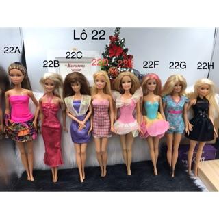 Búp bê Barbie chính hãng. Búp bê Barbie fashionistas chính hãng. Mã Lô22
