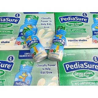 Sữa nước Pediasure Prebiotic Fiber chất xơ vani 237ml Mỹ