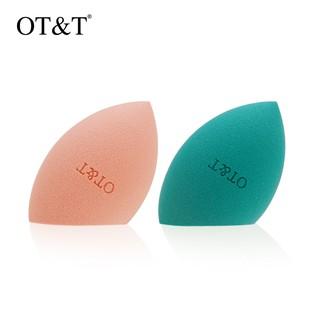 Mút trang điểm OT T 2 màu sắc tùy chọn thích hợp trang điểm mỹ phẩm dạng ướt khô