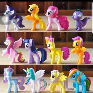 Set 12 ngựa thiên thần pony