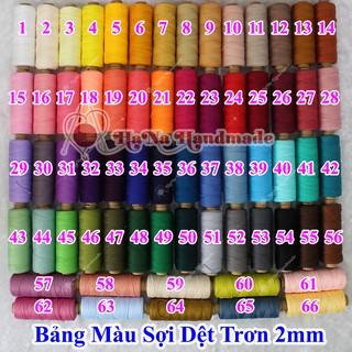 Sợi Dệt Trơn (25k/ống) Màu 1-40