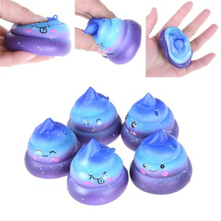 NEW❤❤Funny Scented Squishy Charm Slow Rising Simulation Dung Slime Toy P