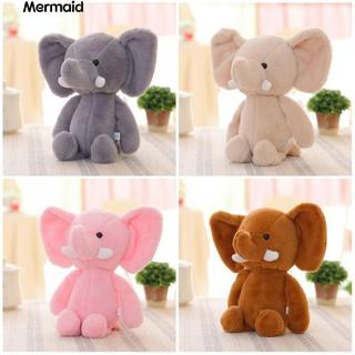 Mini Elephant Stuffed Animals Kids Baby Soft Plush Toy X-mas Gift Doll
