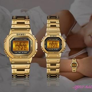 Đồng hồ thể thao nam nữ SKMEI chính hãng cao cấp, điện tử, đầy đủ chức năng, dây thép đúc, thời trang ( Mã ASK03 ) thumbnail