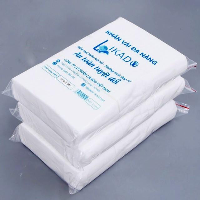 1 gói Khăn vải đa năng Likado - loại 300g -270 tờ