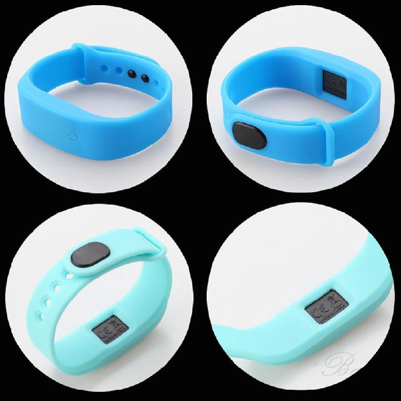 Đồng hồ đeo tay điện tử dây silicon thời trang cho nam nữ