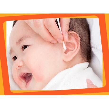 (Giá Hấp Dẫn)Set 250 bông ngoáy tai kháng khuẩn cao cấp an toàn cho bé