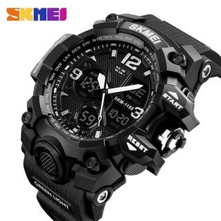 Đồng hồ Nam Skmei 1155B điện tử thể thao Dual Time Nhiều màu lựa chọn