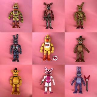 Mô Hình Nhân Vật Trong Five Midnights At Freddy 's Dream Bằng Pvc