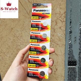 Pin đồng hồ CR1220 Panasonic 3V Lithium Vỉ 1 Viên chính hãng thumbnail