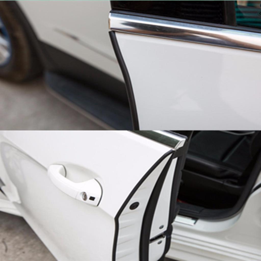อะไหล่รถยนต์ cassa ยางติดขอบประตูกันกระแทก ยางกันกระแทก ยางกันชน (สีดำ) ความยาว 10 เมตร J24-B-10Mะไหล่รถยนต์ cassa ยางติ
