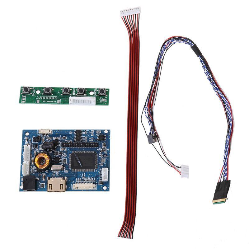 """Bộ bảng điều khiển HdMI Lvds cáp 40 chân cho màn hình Raspberry PI 3 7-42"""""""