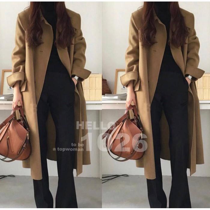 áo khoác nữ dáng dài thời trang retro - 22237505 , 2811356241 , 322_2811356241 , 1014200 , ao-khoac-nu-dang-dai-thoi-trang-retro-322_2811356241 , shopee.vn , áo khoác nữ dáng dài thời trang retro