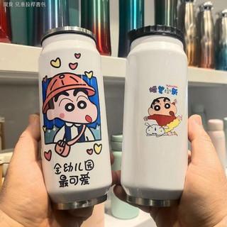 Bình Nước Hình Cậu Bé Bút Chì Shin-chan 0409 Có Ống Hút Tiện Dụng