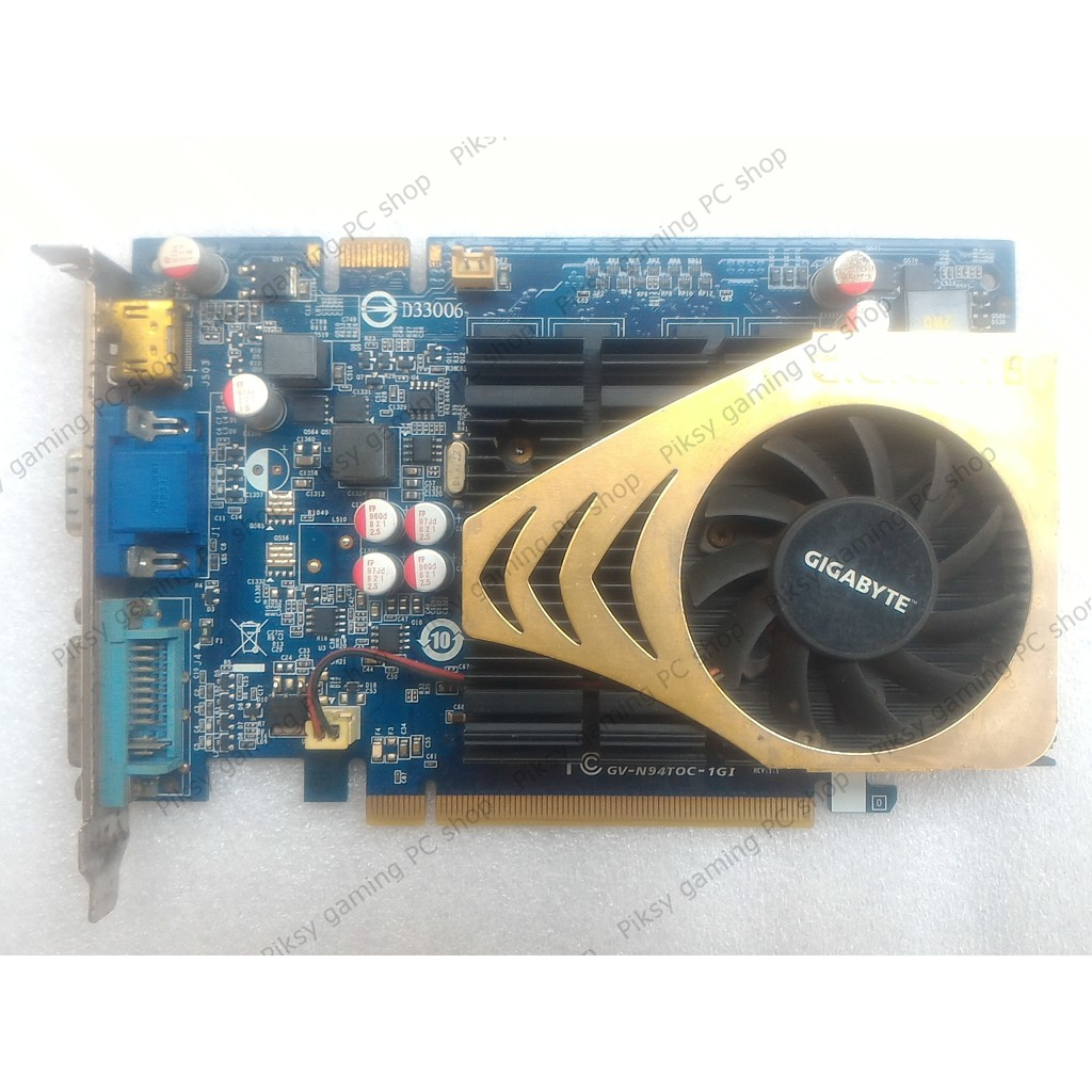 Card màn hình Gigabyte GeForce 9400 GT 1GB DDR2 (GV-N94TOC-1GI) - 2723786 , 1162912364 , 322_1162912364 , 100000 , Card-man-hinh-Gigabyte-GeForce-9400-GT-1GB-DDR2-GV-N94TOC-1GI-322_1162912364 , shopee.vn , Card màn hình Gigabyte GeForce 9400 GT 1GB DDR2 (GV-N94TOC-1GI)