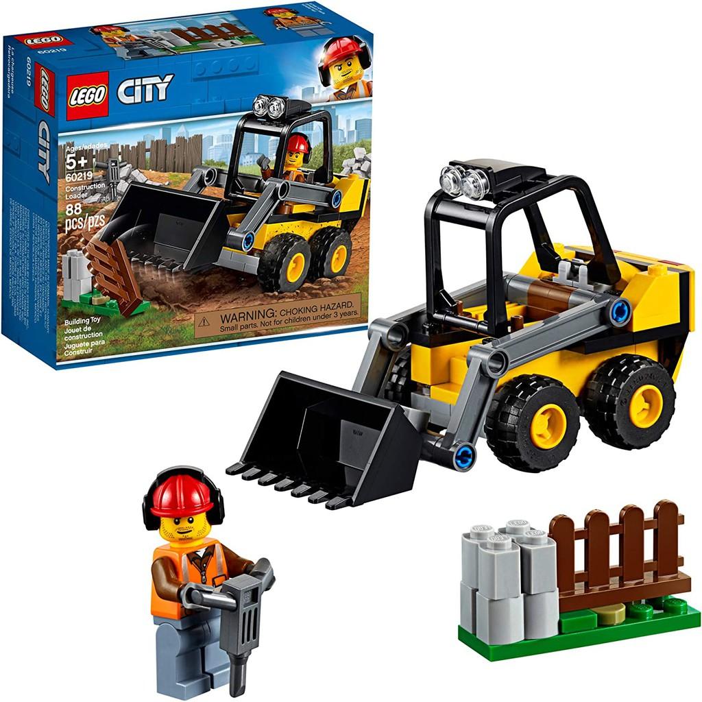 LEGO CITY 60219 Xe Xúc Công Trình ( 88 Chi tiết)