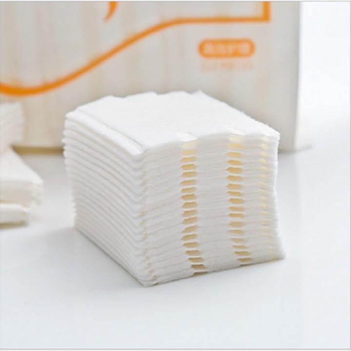 Bông tẩy trang 222 miếng sợi bông 100% tự nhiên