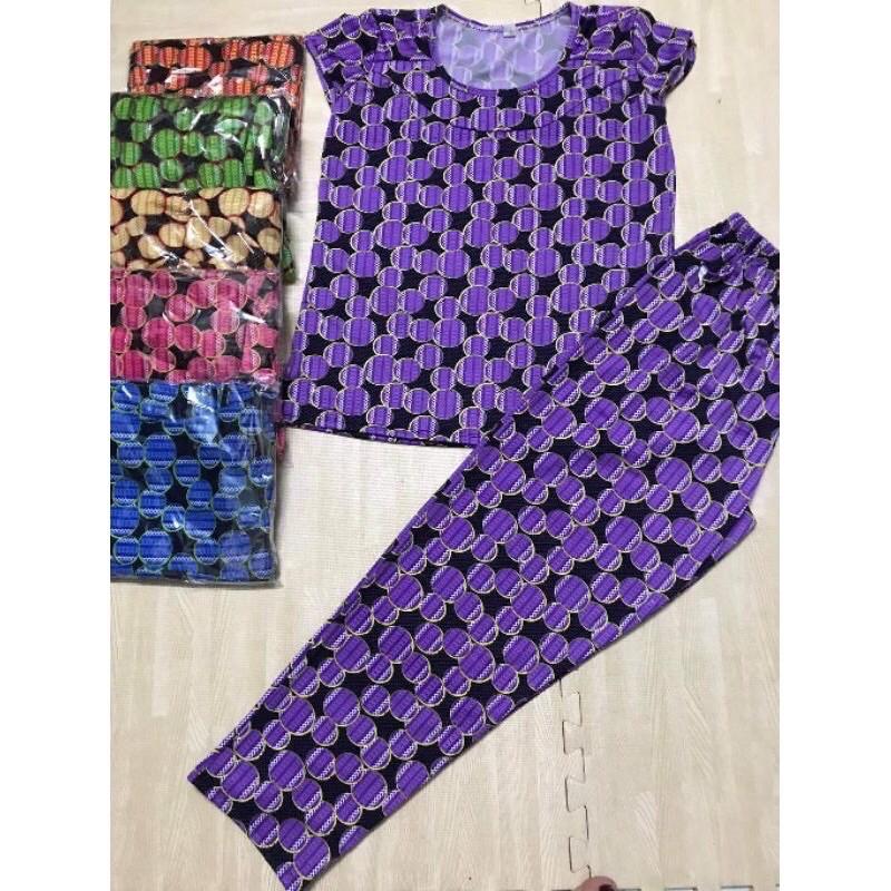 [Xả Kho] Đồ Bộ thun mặc nhà aty quần dài size 48-70kg