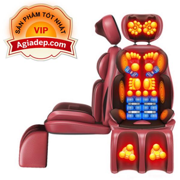 Ghế Massage Thư giãn Trị liệu Hồng ngoại + Xoa bóp chân AGD (tốt nhất)