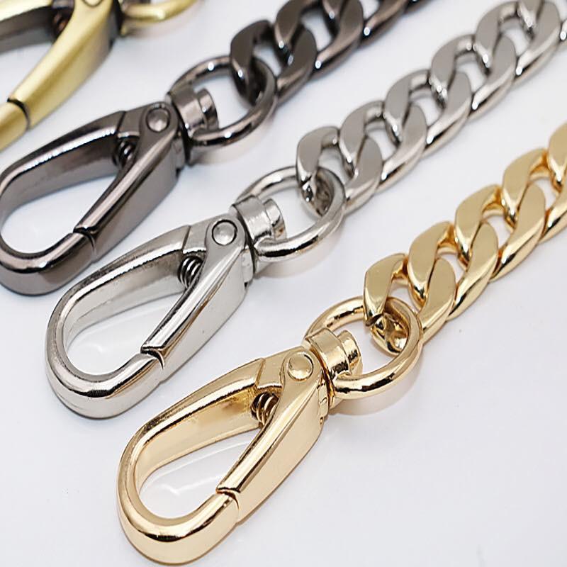dây xích kim loại đeo vai, dây túi xách, dây kim loại, dây túi, quai túi