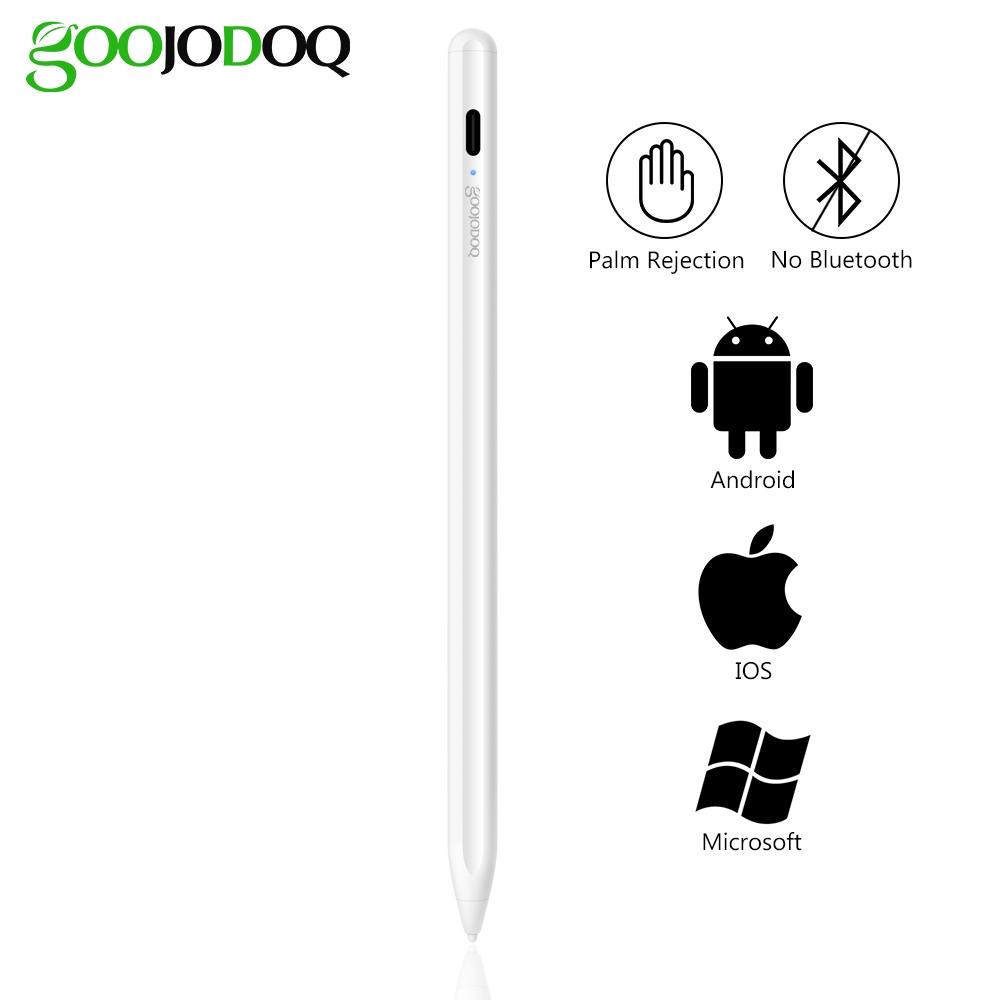 Bút cảm ứng GOOJODOQ thế hệ 9 Plus 2 trong 1 cho iPad Android IOS 2 1