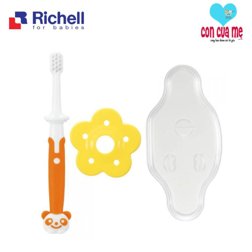 Bàn chải bước 3 Richell cho bé 12m+ RC93865 - 2786242 , 548990475 , 322_548990475 , 125000 , Ban-chai-buoc-3-Richell-cho-be-12m-RC93865-322_548990475 , shopee.vn , Bàn chải bước 3 Richell cho bé 12m+ RC93865