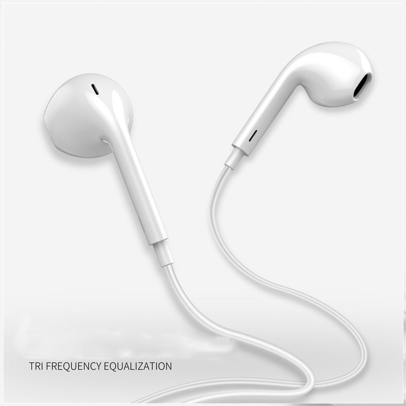 Tai nghe KCO loại nhét tai chứng nhận MFi có micro và điều khiển đầu cắm 3.5mm