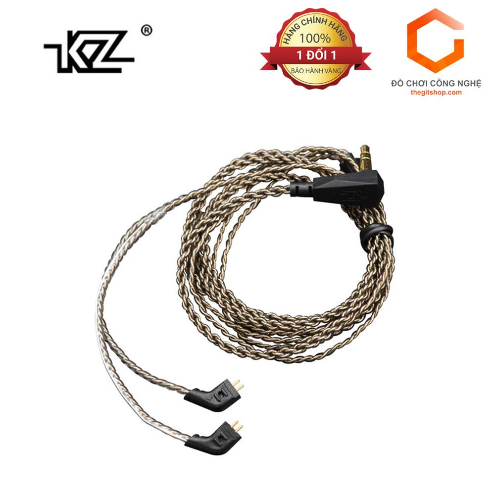 Dây cáp đồng mạ bạc KZ cho ES3/ZSR/ZST/ZS3/ZS4/ZS5/ZS6