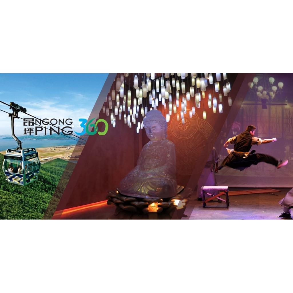 Toàn Quốc [E-voucher] Vé Ngong Ping 360 Fun Pass - cabin đáy kính