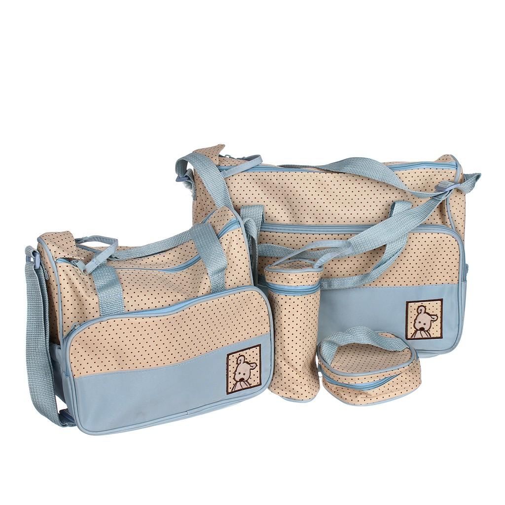 Túi đựng đồ 5 chi tiết cho mẹ và bé - 3034195 , 173357316 , 322_173357316 , 175000 , Tui-dung-do-5-chi-tiet-cho-me-va-be-322_173357316 , shopee.vn , Túi đựng đồ 5 chi tiết cho mẹ và bé