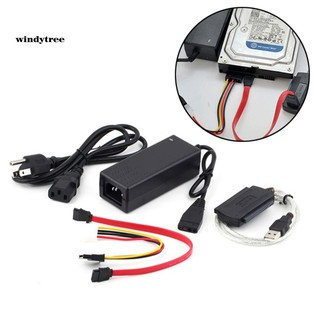 【WDTE】SATA/IDE Drive to USB 2.0 Adapter Converter Cable for 2.5/3.5 inch Hard Disk