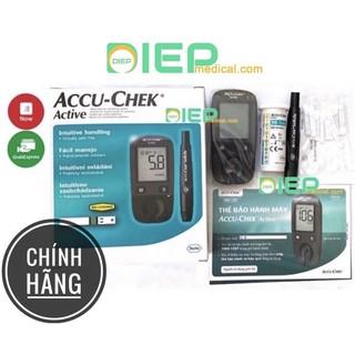 ✅ ACCU – CHEK ACTIVE – Máy thử đường huyết chính hãng Accu-Chek Đức