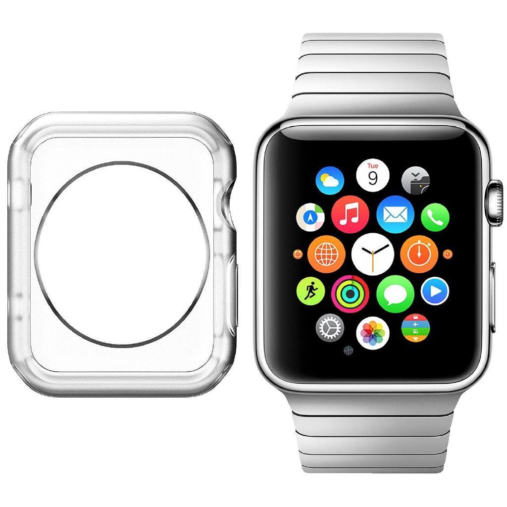 Ốp khung silicone bảo vệ cho  Watch Series 4