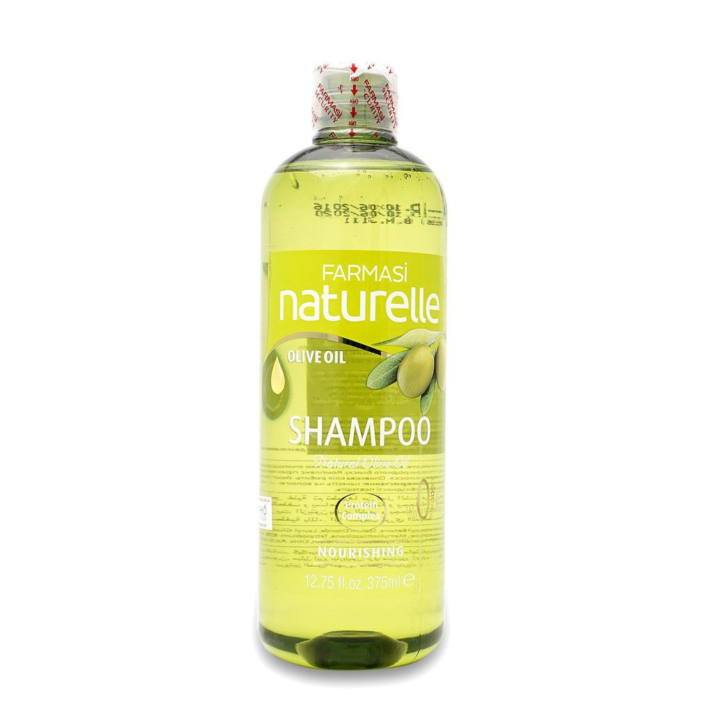 Dầu Gội Tinh Chất Oliu Dưỡng Tóc O'liva With Natural Olive Oil Shampoo 375ml - Farmasi