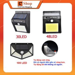 Đèn LED năng lượng mặt trời 100LED – 48LED – 30LED – Gshop