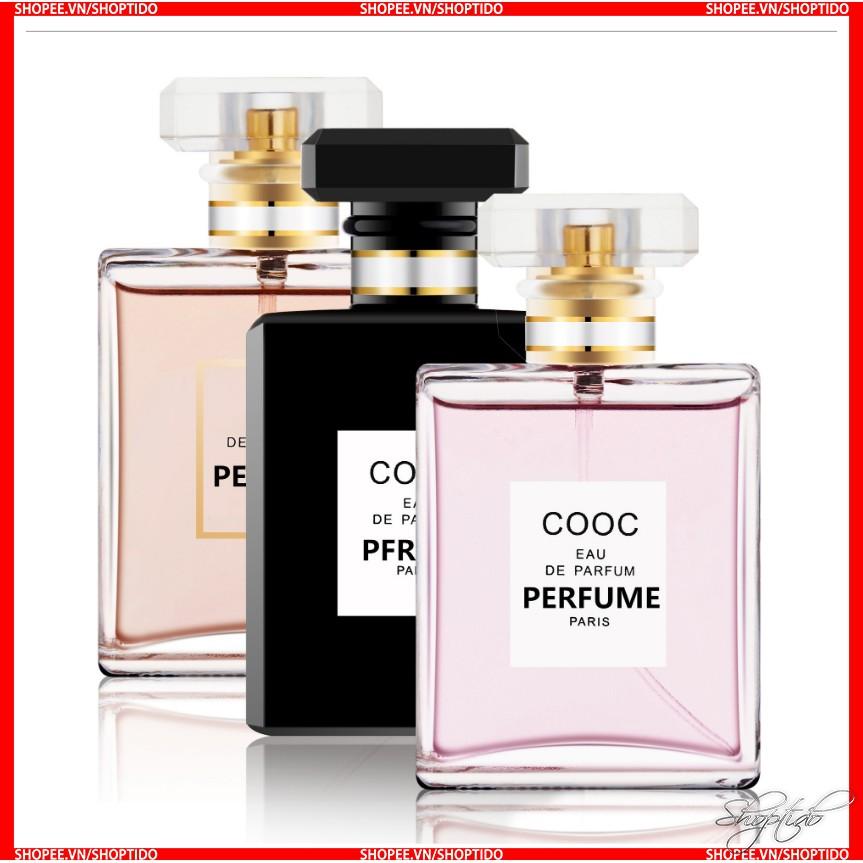 [Mã COSHOT24 hoàn 8% xu đơn 250K] Nước Hoa Nữ Cao Cấp Cooc Eau De Parfum Perfume Paris 50ML Chính Hãng Nội Địa Trung