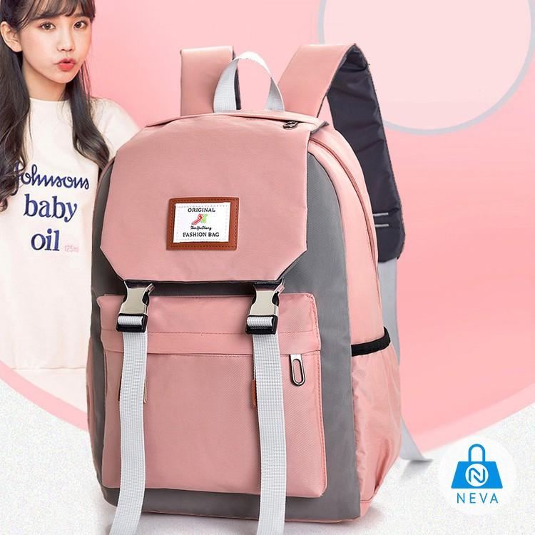 (HÀNG MỚI) Balo Nữ Ulzzang Phong Cách Hàn Quốc Hot NEVA1260