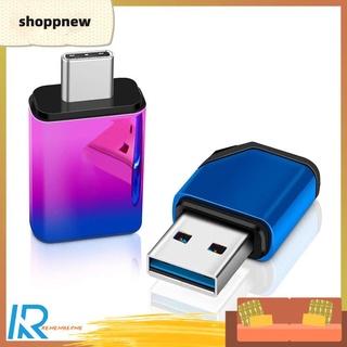 Shoppnew 8GB/16GB/32GB/64GB/128GB USB 3.0 Flash Drive Gradient Metal Memory U Stick