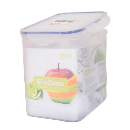 Hộp nhựa đựng thực phẩm BioZone 8700ml - 2428488 , 515392045 , 322_515392045 , 165000 , Hop-nhua-dung-thuc-pham-BioZone-8700ml-322_515392045 , shopee.vn , Hộp nhựa đựng thực phẩm BioZone 8700ml