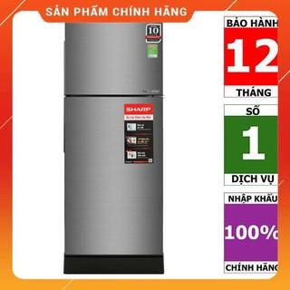 [BMART] SJ-X201E-SL | SJ-X201E-DS | Tủ lạnh Sharp Inverter 196 lít - HÀNG CHÍNH HÃNG