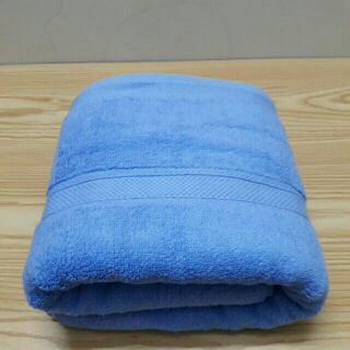 Khăn tắm cotton cao cấp thấm hút nhanh (Xanh)