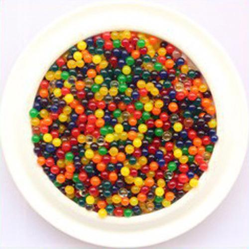 BLM❤1000 Water Crystal Beads Expanding Magic Balls Sensory Kids Refill Play Toys