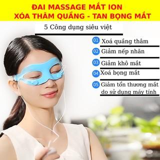 Máy massage mắt X20 ION ÂM -đẩy tinh chất XOÁ QUẦNG THÂM VÀ BỌNG MẮT -máy massage mặt-mặt nạ mắt-dưỡng da mắt thumbnail