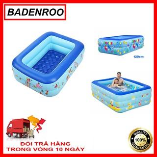 Bể Bơi Bơi Di Động Tại Nhà Dành Cho Bé 1m2