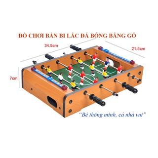 Đồ chơi gỗ- Bàn bi lắc 4 tay cầm 34.5 cm x21.5 cm x 8 cm