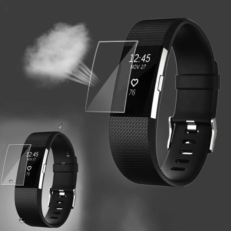 Miếng dán bảo vệ màn hình cho đồng hồ thông minh Fitbit Charge 2